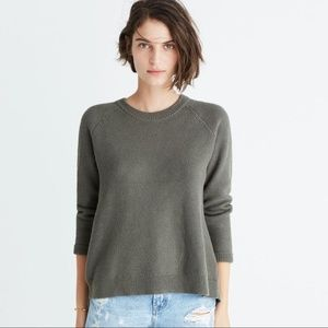 Madewell Province Cross-Back Pullover Sweater.